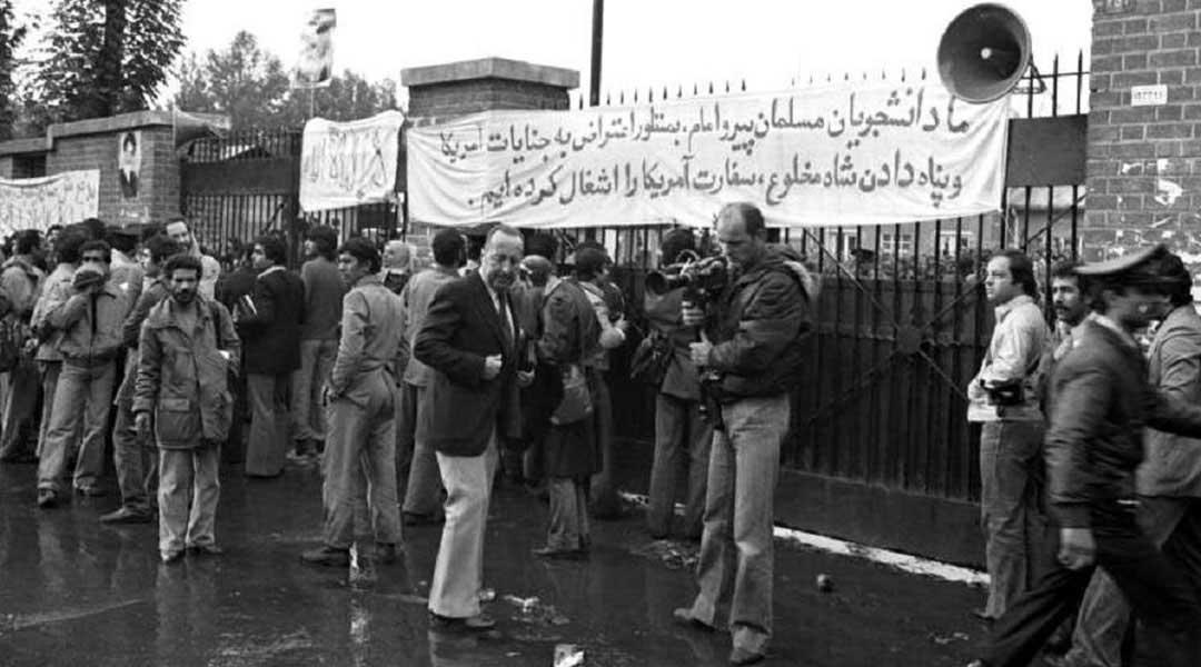 اشغال سفارت آمریکا در خاطرات صادق طباطبایی
