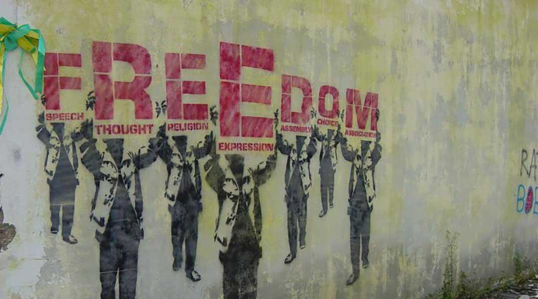 هنر بدون آزادی میمیرد