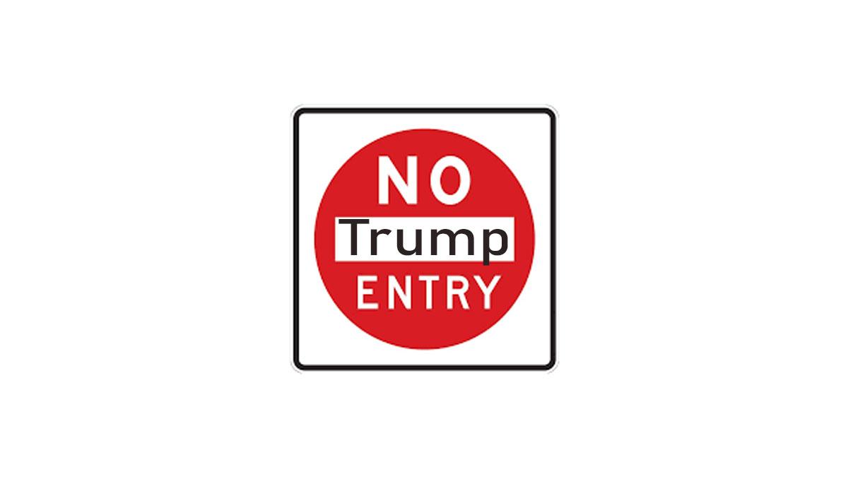 طومار ممنوع الورودی دونالد ترامپ در پارلمان بریتانیا